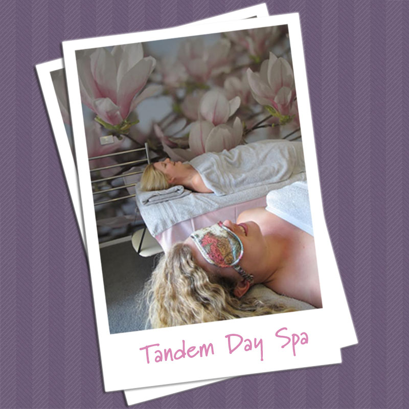 Tandem Day Spa Massage Voucher for Couples